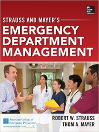 دانلود کتاب مدیریت بخش اورژانس اشتراوس و مایرStrauss and Mayer's Emergency Department Management