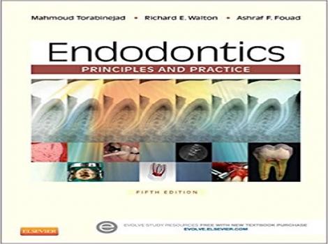 دانلود کتاب اندودنتیکس ترابی نژاد: اصول و تمرین + ویدئو Endodontics: Principles and Practice 5ED