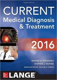 دانلود کتاب تشخیص پزشکی و درمان کارنت 2016 -CURRENT Medical Diagnosis and Treatment 55 ED