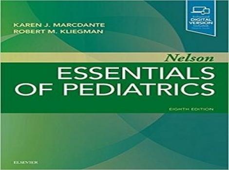 دانلود کتاب ملزومات پزشکی کودکان نلسون Nelson Essentials of Pediatrics 8 ED-2019