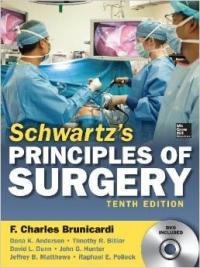 کتاب شوارتز Schwartz's Principles of Surgery, 10th edition  ویرایش دهم
