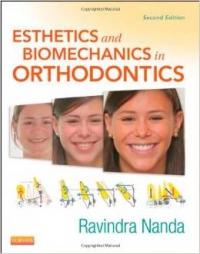 کتاب زیبایی و بیومکانیک در ارتودنسی ناندا  Esthetics and Biomechanics in Orthodontics  2th edition ویرایش دوم 2015