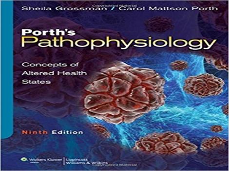 دانلود کتاب پاتوفیزیولوژی پورت: مفاهیم وضعیت های سلامت تغییر یافته Porth's Pathophysiology: Concepts of Altered Health States