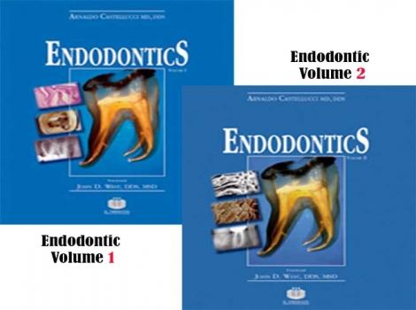 دانلود کتاب اندودانتیکس Endodontics Arnaldo Castellucci Vol 1,2