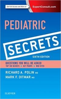 دانلود کتاب اسرار پزشکی کودکان Pediatric Secrets, 6 ED