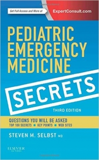 دانلود کتاب اسرار طب اورژانس کودکان Pediatric Emergency Medicine Secrets 3 ED