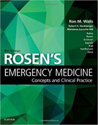 دانلود کتاب پزشکی اورژانس روزن 2018 Rosen's Emergency Medicine: Concepts and Clinical Practice: 2Vol 9ED