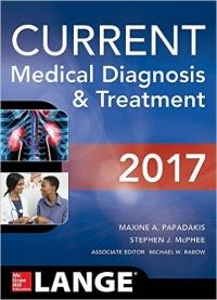 دانلود کتاب تشخیص و درمان پزشکی کارنت CURRENT Medical Diagnosis and Treatment 56 ED 2017