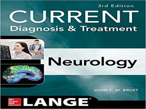 دانلود کتاب تشخیص و درمان مغز و اعصاب کارنت CURRENT Diagnosis & Treatment Neurology 3 ED-2019