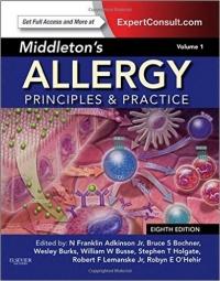 دانلود رایگان کتاب  آلرژی 2 مجموعه میدلتون: اصول و تمرین Middleton's Allergy: Principles and Practice 8 ED
