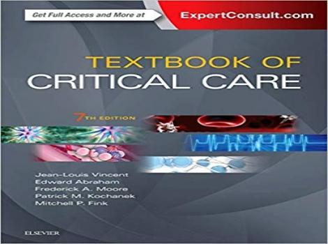دانلود کتاب مراقبتهای ویژه فینک و وینسنت Textbook of Critical Care 7 ED Fink 2017 ویرایش هفتم 2017