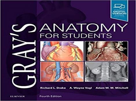 دانلود کتاب آناتومی برای دانشجویان گری 2020 Gray's Anatomy for Students 4 ED