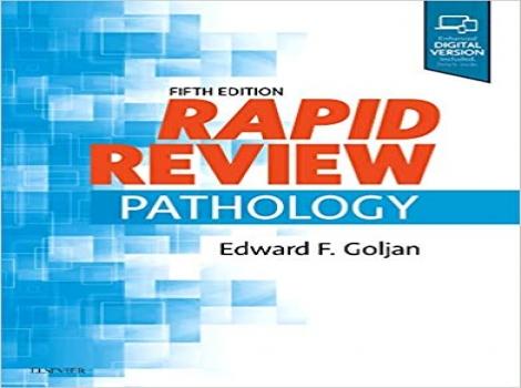 دانلود کتاب مرور سریع پاتولوژی گلجان 2019 Rapid Review Pathology 5 ED ویرایش پنجم 2019