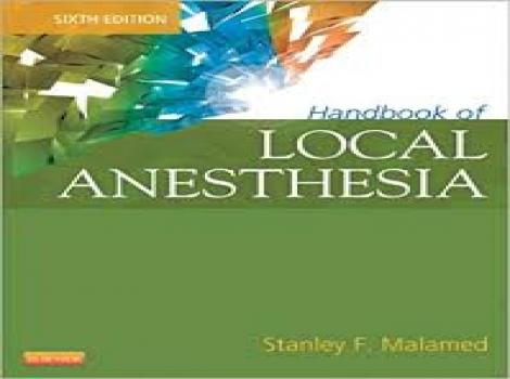 دانلود کتاب بیحسی موضعی مالامد 2013 Handbook of Local Anesthesia 6 ED-Malamed