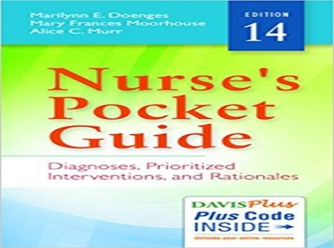 کتاب راهنمای جیبی پرستار 2016-Nurse's Pocket Guide: Diagnoses, Prioritized Interventions and Rationales 14ED