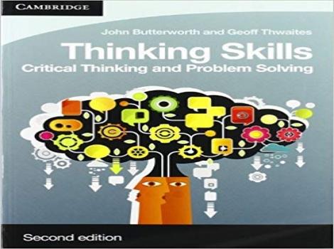 دانلود کتاب مهارت های تفکر باتروورت Thinking Skills: Critical Thinking and Problem Solving 2 ED ویرایش دوم 2016