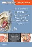 دانلود رایگان کتاب آناتومی سر و گردن برای داندانپزشکی نتر Netter's Head and Neck Anatomy for Dentistry 3 ED